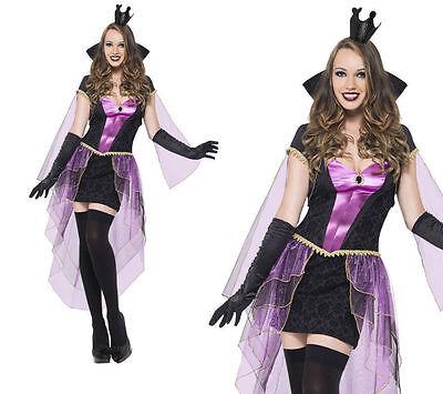 te Halloween Verkleidung Outfit Erwachsene Böse Königin (Disney Erwachsenen Outfits)