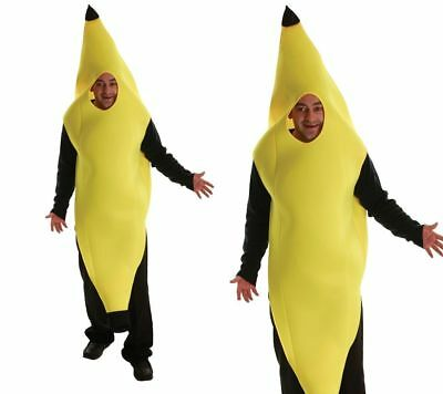 Herren Banane Kostüm Junggesellenabschied Bananen Comedy Outfit - Herren Bananen Kostüm