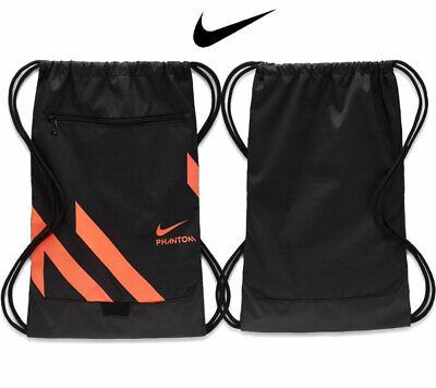 Nike Gymsack Phantom Sack Gym Bag Training Sports Bag Drawstring PE Team Kit