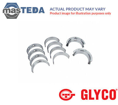 MAIN SHELL BEARINGS SET GLYCO H1057/5 030MM I OVERSIZE 0.3MM NEW OE REPLACEMENT (Genesis 1983 1998)
