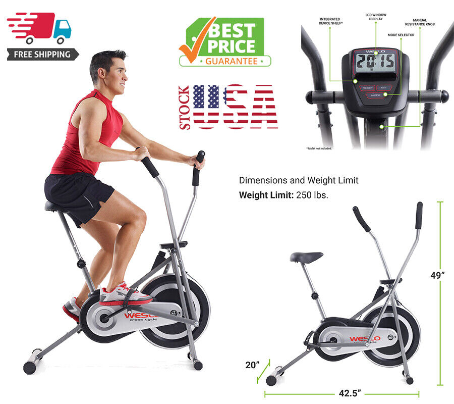 Weslo Cross Cycle Upright Bike, New Model