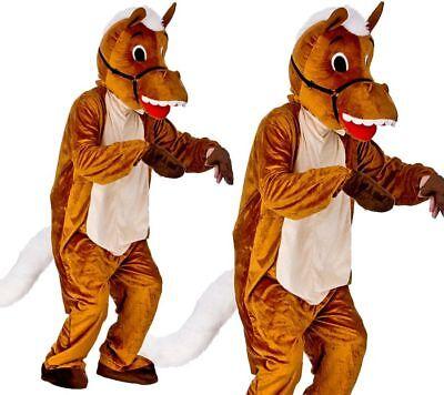 Horse Racing Happy Mascot Mens Fancy Dress Costume - Horse Racing Kostüme