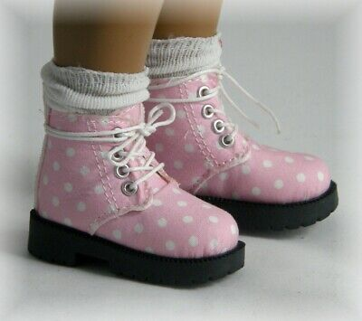 Sasha Dolls - Pink Spotty Boots - The Doll Works
