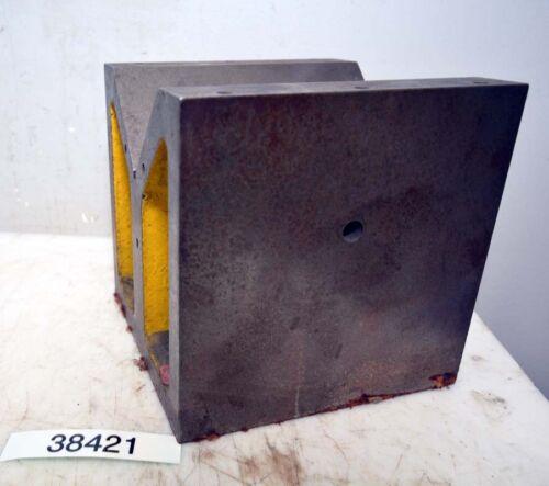 Heavy Steel V Block 8x8x8 (Inv.38421)