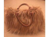 Genuine Prada Eco Faux Fur Large Bag with Dust Bag