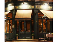 Italian Restaurant in Central London, Are looking For Chef and Floor Staff. Job Work Restaurant