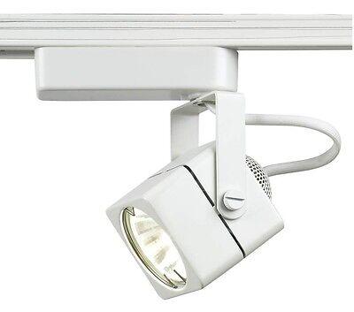 Voltage Track Lighting Fixture - SQUARE TRACK LIGHTING FIXTURE LOW VOLTAGE  WHITE