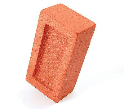 Artificial # Foam Ladrillo Disfraz de Halloween Broma Accesorio