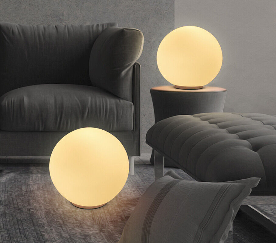 Minimalism Simple Ball Globe Glass Shade Lamp Round Light