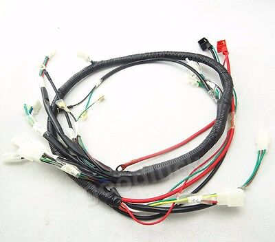 Engine Wiring Harness Wire Loom for GY6 125cc 150cc Quad Bike ATV Buggy