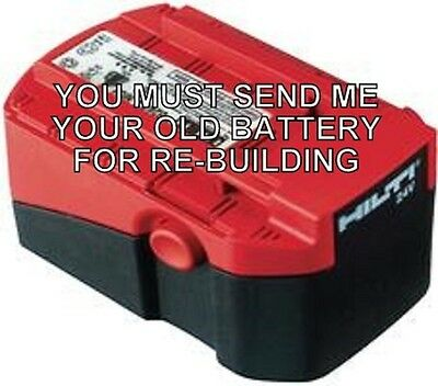 Re-build Service For Hilti B 243.0 Battery