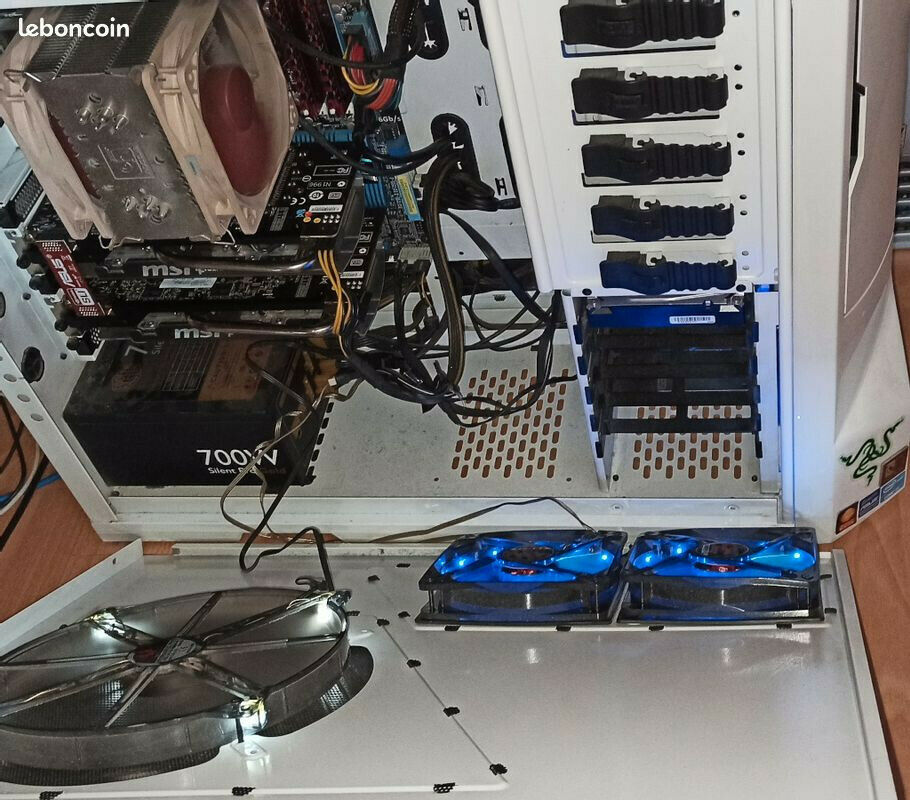 Tour gamer nzxt asus p8z68 v-pro i5 4core 2xmsi twin fiozy iii nvidia  gtx 660