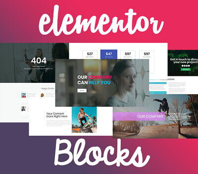 500 Elementor Blocks Templates Wordpress. No Pro Needed Pack 2