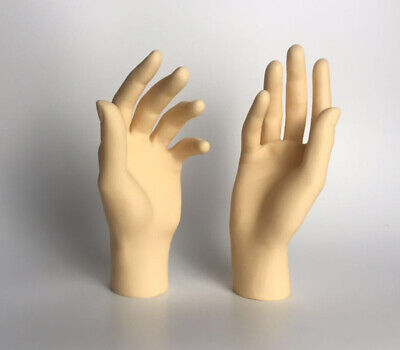 New 1pair Mannequin Hand Arm Display Female Gloves Jewelry Model Stand Skin 2019