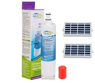 For Whirlpool Refrigerator Water SBS002, 2x Air Microban Ant