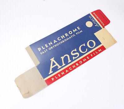 ANSCO DEALER DISPLAY OVERSIZE HANGING FILM BOX FOR - Oversize Hanging
