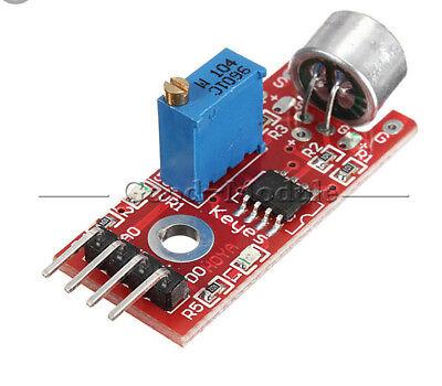 Microphone Sensor Avr Pic High Sensitivity Sound Detection Module For Arduino Gm