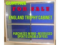 ENGLAND FC TROPHY CABINET- NEVER USED!