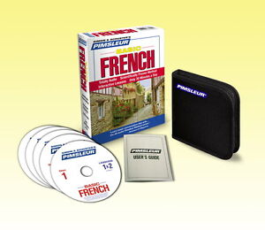 NEW 5 CD Pimsleur Learn to Speak Basic French Language