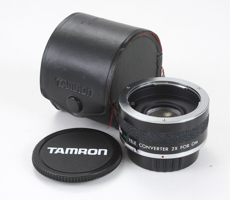 TAMRON TELECONVERTER 2X MC FOR OLYMPUS OM MOUNT/181568