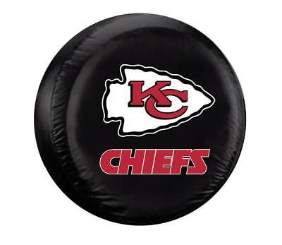 Nfl Spare Tire Cover - Kansas City Chiefs Large Tire Cover [NEW] NFL Truck Lg Spare Vinyl Hitch