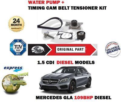 Für Mercedes Gla180 1.5 Cdi 109bhp 2014- > Wasserpumpe +Zahnriemen Kit