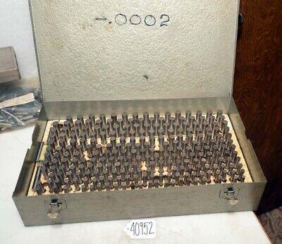 .251-.500 Pin Gage Set Inv. 40952