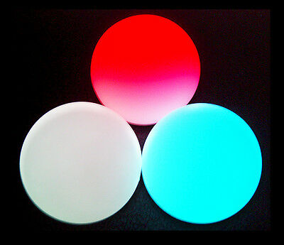 Jugglo Pro Red, White and Blue Light up Glow in the Dark LED Juggle Balls! - Glow In The Dark Juggling Balls