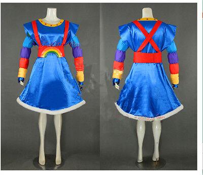 Rainbow Brite Rainbow Girl Cosplay Costume Pobby Rainbow Princess Costume Rubies (Rainbow Brite Costume Adults)