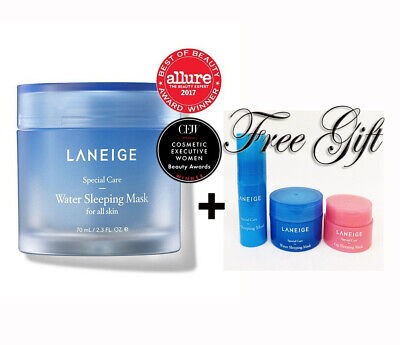 Laneige Water Sleeping Mask 70ml with FREE GIFT (FAST SHIPPING)US SELLER