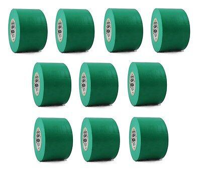 10 Rolls Green Vinyl Pvc Electrical Tape 2 X 66 Flame Retardant Free Shipping