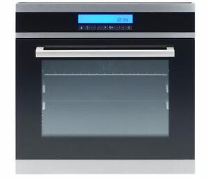 """NEW Ancona 10 Function Built-in Oven 24"""" Stainless - $500 OFF"""