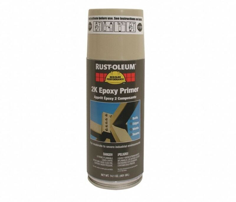 RUST-OLEUM (247598) Steel Metal Beige 14.1 oz. Flat Spray Epoxy Primer