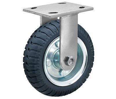 Albion 16sz08227r Rigid Plate Caster 8 Wheel Dia. 280 Lb Load Rating 34b