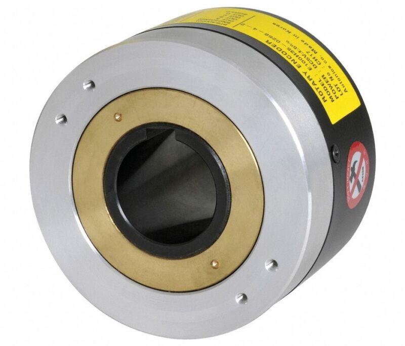Autonics E100H35-1024-6-L-5 Hollow Shaft Line Output Rotary Encoder w/ 1024 PPR