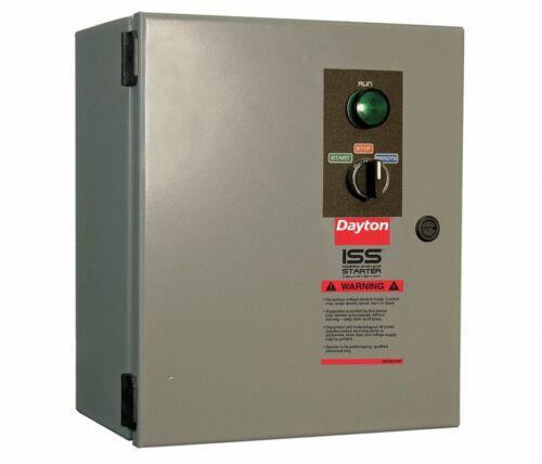 DAYTON 21RJ97 NEMA MAGNETIC MOTOR STARTER, 208/230/460/600 VAC COIL VOLTS, NEW!