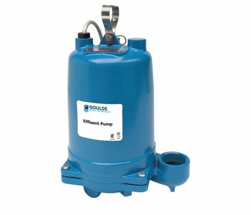 GOULDS 1/3 HP, 110V /60HZ Submersible Pump - Model WS0311BHF