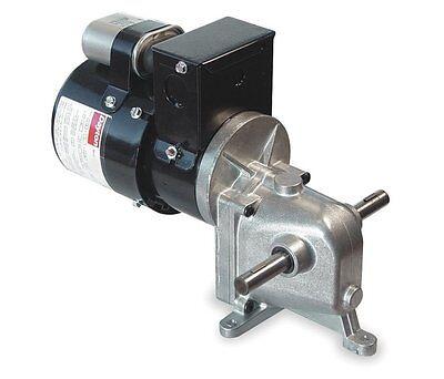 Dayton Model 1lpz2 Gear Motor 3 Rpm 112 Hp 115230v 1l555