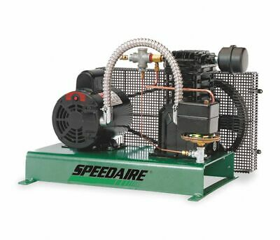 Speedaire 4b243 Electric Air Compressor Tankless Stationary 3 Hp New