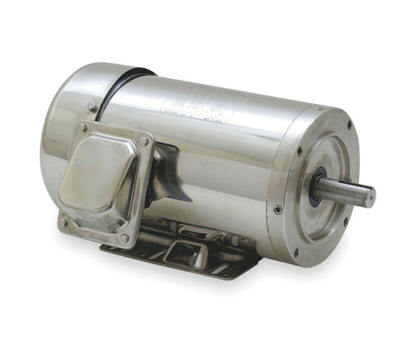 Dayton 2RKZ6 SS Washdown Motor 3 Ph TEFC 20 HP 1765 rpm 230/ 480 Volt