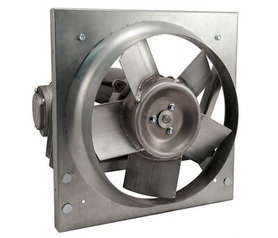 Dayton 32zn53 Panel Exhaust Fan 12 Blade Diameter Direct Drive 16 Hp New