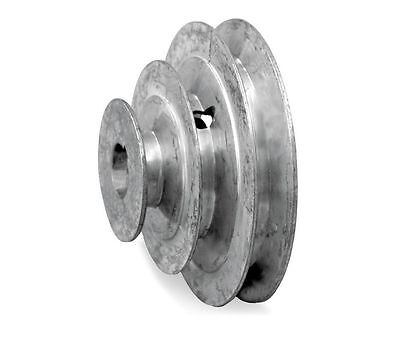 6 Diameter - 3 Step Pulley 12 - 58 Fixed Bore - Die Cast By Congress
