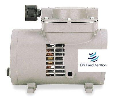 New Oem Thomas 927ca18 Compressorvacuum Pump18 Hp60 Hz115v 2yr Warranty