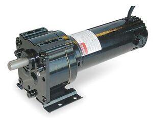 Dayton model 4z129 dc gear motor 50 rpm 1 8 hp 90vdc for 50 hp dc motor