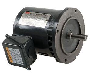 New 1 5hp 3465 Rpm 1 1 2 Dayton Electric Motor 208 230 460 Volt 3ph 143tc 4thu2