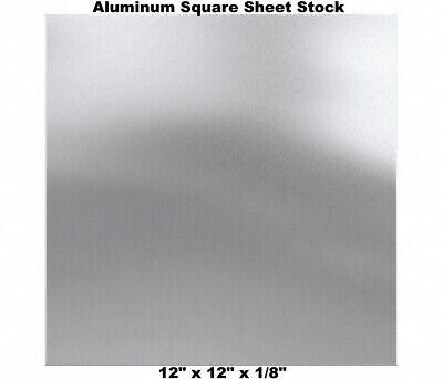 Aluminum Square Sheet Stock 12 X 12 X 18 3003 Alloy Mill Finish Plate