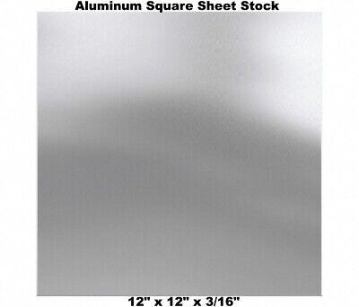 Aluminum Square Sheet Stock 12 X 12 X 316 3003 Alloy Mill Finish Plate