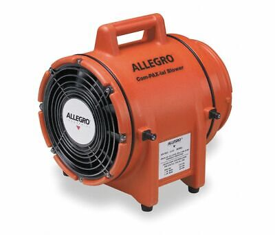 Allegro 9536 Plastic Compaxial Blower Confined Space Axial Fan 12vdc 8 Duct
