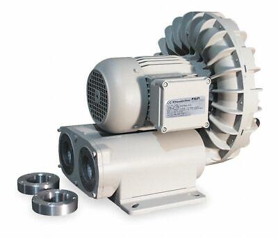 Fuji Electric Vfd5-l Regenerative Blower 4 Hp 3-phase 230 Volt 22nx92 New