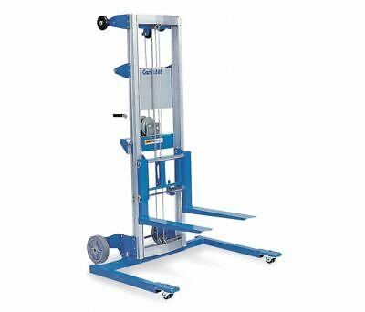 Genie Gl-4 Str Manual Push Stacker 500 Lb Capacity 71 Lift Ht. 4yz84 New